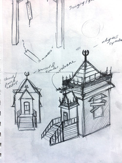 Old Spire Church concept
