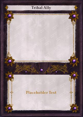 Raja Mandala Board Game - Card Front Des