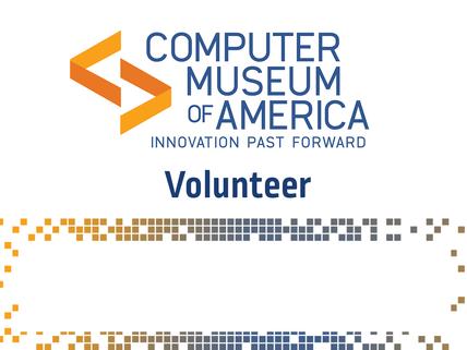 CMoA Volunteer Card (for lanyard)