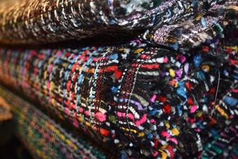 Tweed multicolor