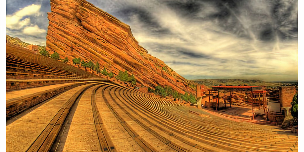 Dean Delray with Bill Burr at Red Rocks