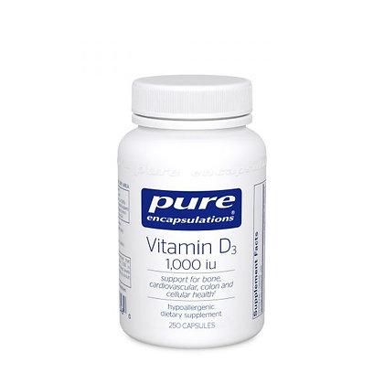Vitamin D3 1000 IU 250 vcaps