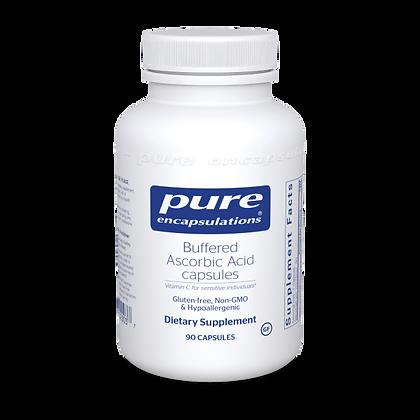 Buffered Ascorbic Acid Capsules 90 ct