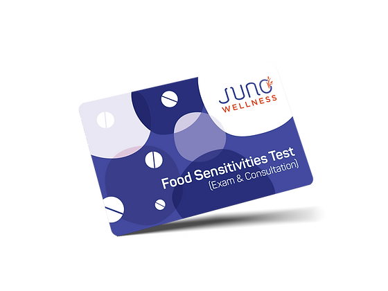 IgG Food Sensitivities & Nutrition Consultation