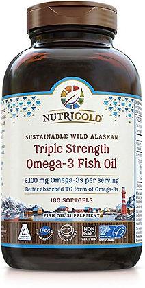 Triple Strength Omega-3 Fish Oil 120 capsules