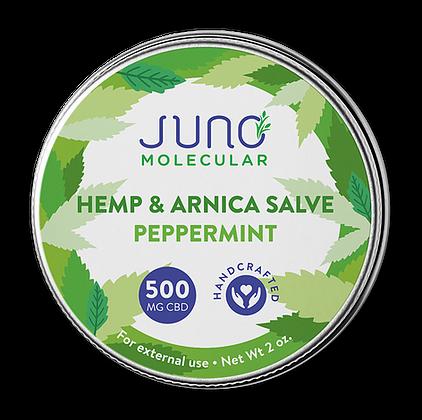 2 OZ CBD and Arnica Salve (500 mg CBD)