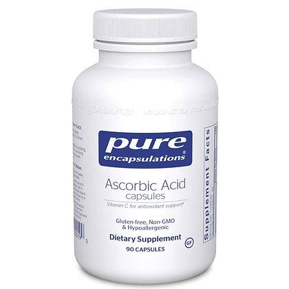 Ascorbic Acid Capsules 90 Caps 1000mg