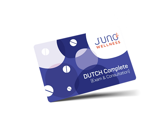 DUTCH Complete (Urine Hormone and Cortisol Test) & Nutrition Consultation