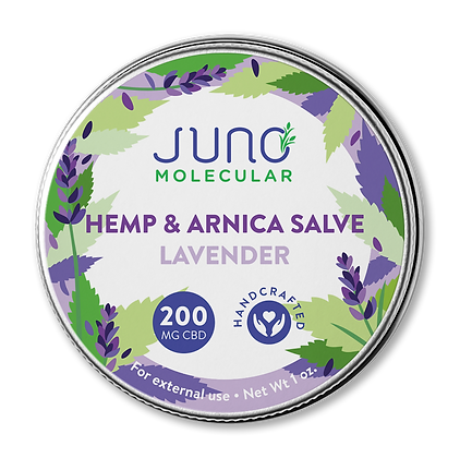 1OZ CBD and Arnica Salve (200 mg CBD)