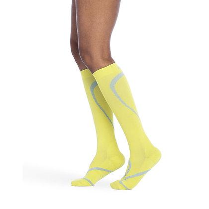 Traverse Sock 412 Limeade Calf High Compression 20-30mmHg