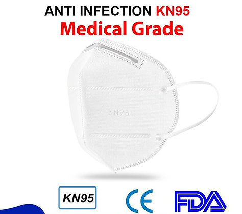 10 Pcs Medical Grade KN95 Lamdown mask FDA and CE Approved N95 Protection level