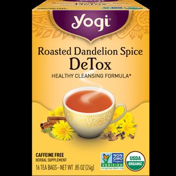 Roasted Dandelion Spice Detox Tea 16 bags