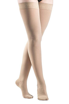SELECT COMFORT XL Women's Crispa Closed Toe Compression Stocking Thigh-High