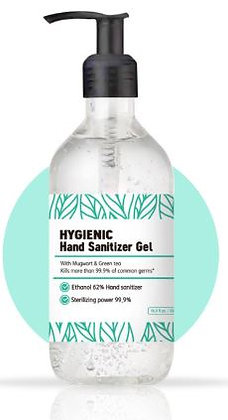 Hygienic Hand Sanitizers 500ml/16.9oz