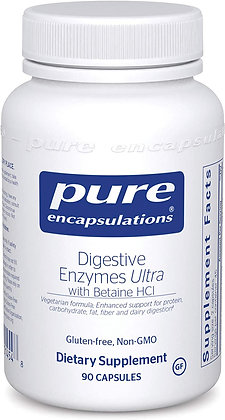 Digestive Enzymes Ultra with Betaine HCl 90 caps