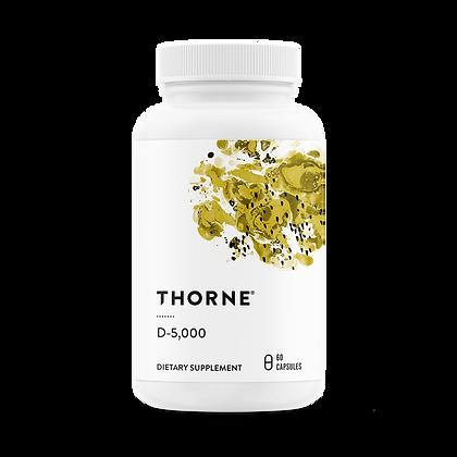 Vitamin D-5,000 - 60 capsules