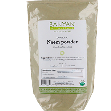 Neem Leaf Powder (Certified Organic)