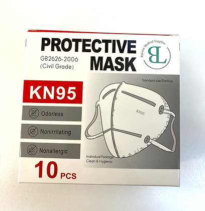 KN95Protective Mask, 10 Count