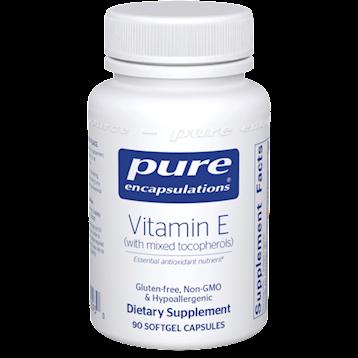 Vitamin E (with mixed tocopherols)