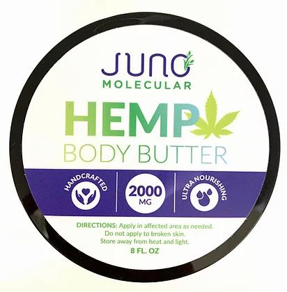 8OZ CBD Body Butter (2000 mg CBD)
