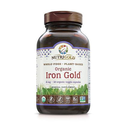 Iron Gold 60 veggie capsules