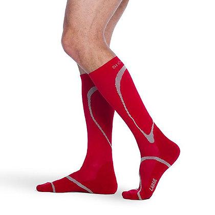 Traverse Sock 412 Red Calf High Compression 20-30mmHg
