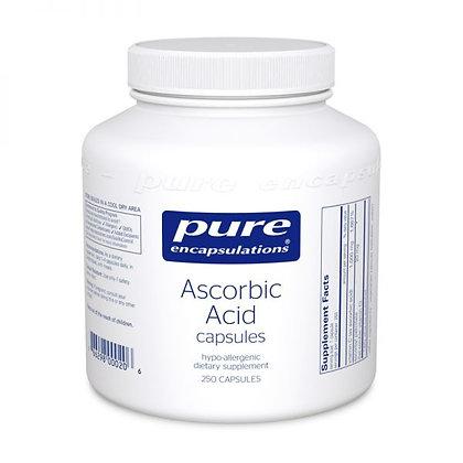 Ascorbic Acid Capsules 250 Caps 1000mg
