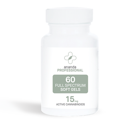 Full Spectrum CBD Softgels 60 ct (15 mg per cap)