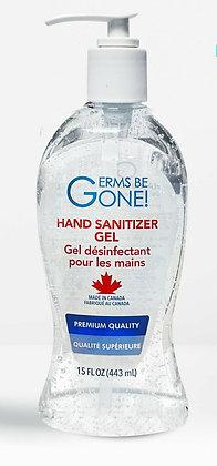 Alcohol-Based Hand Sanitizer Gel, 15oz
