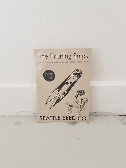 Seattle Seed Co Pruning Snips