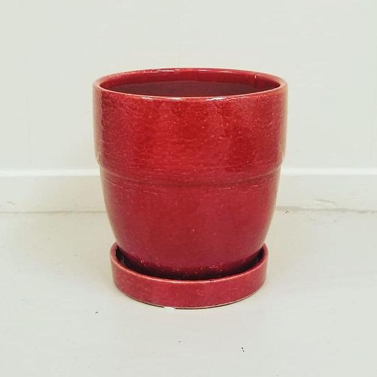 "6"" Ceramic Planter-Various Colors"
