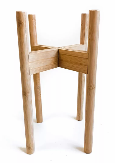 Adjustable Natural Bamboo Stand