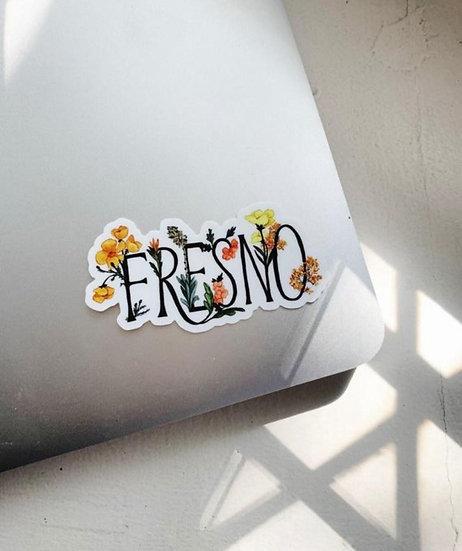 """Fresno"" Sticker"