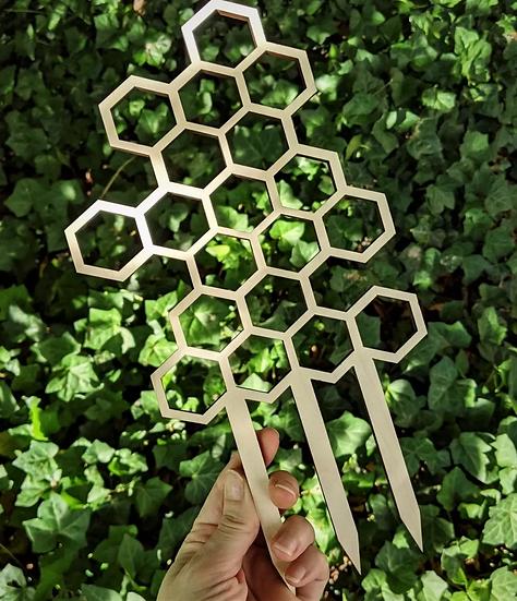 Honeycomb Plant Trellis