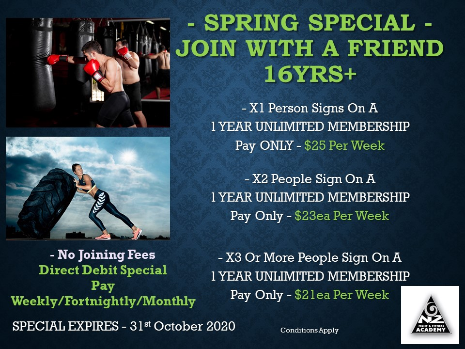 Spring Special - Join With A Friend