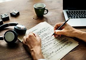 Écrire de la musique