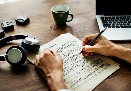 Muziek schrijven