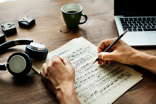 Songwriting for Professionals (11/9/2020 8-9pm)
