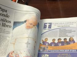 St. Gen's in the Newspaper!
