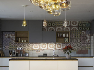 KITCHEN WITH A MOSAIC
