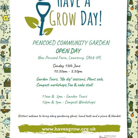 Pencoed Community Gardens Open Day