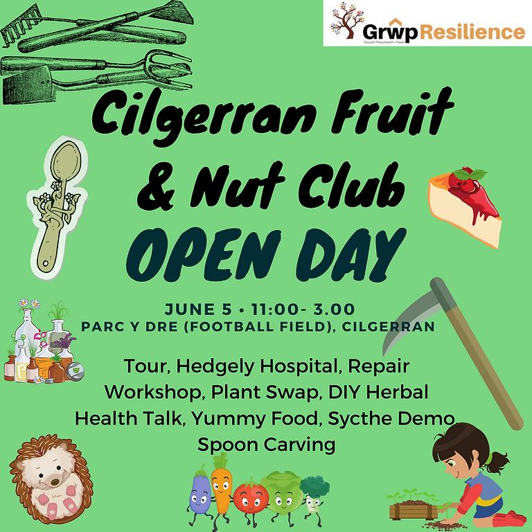 Cilgerran Fruit and Nut Garden Open Day