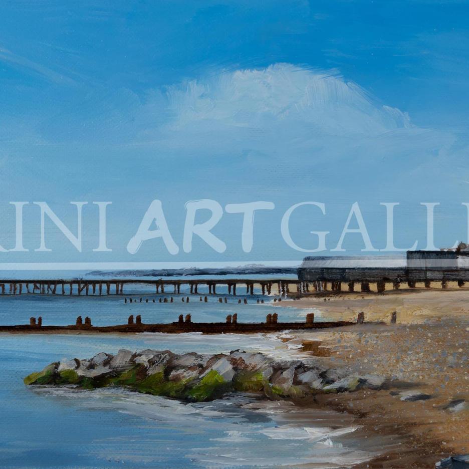 Lowestoft Beach Looking South