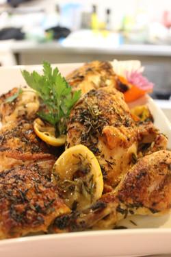 Lemon Rosemary Braised Chicken