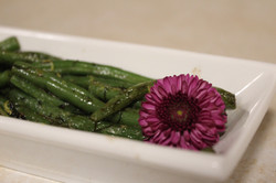 Sauteed Green Beans in Dill Butter
