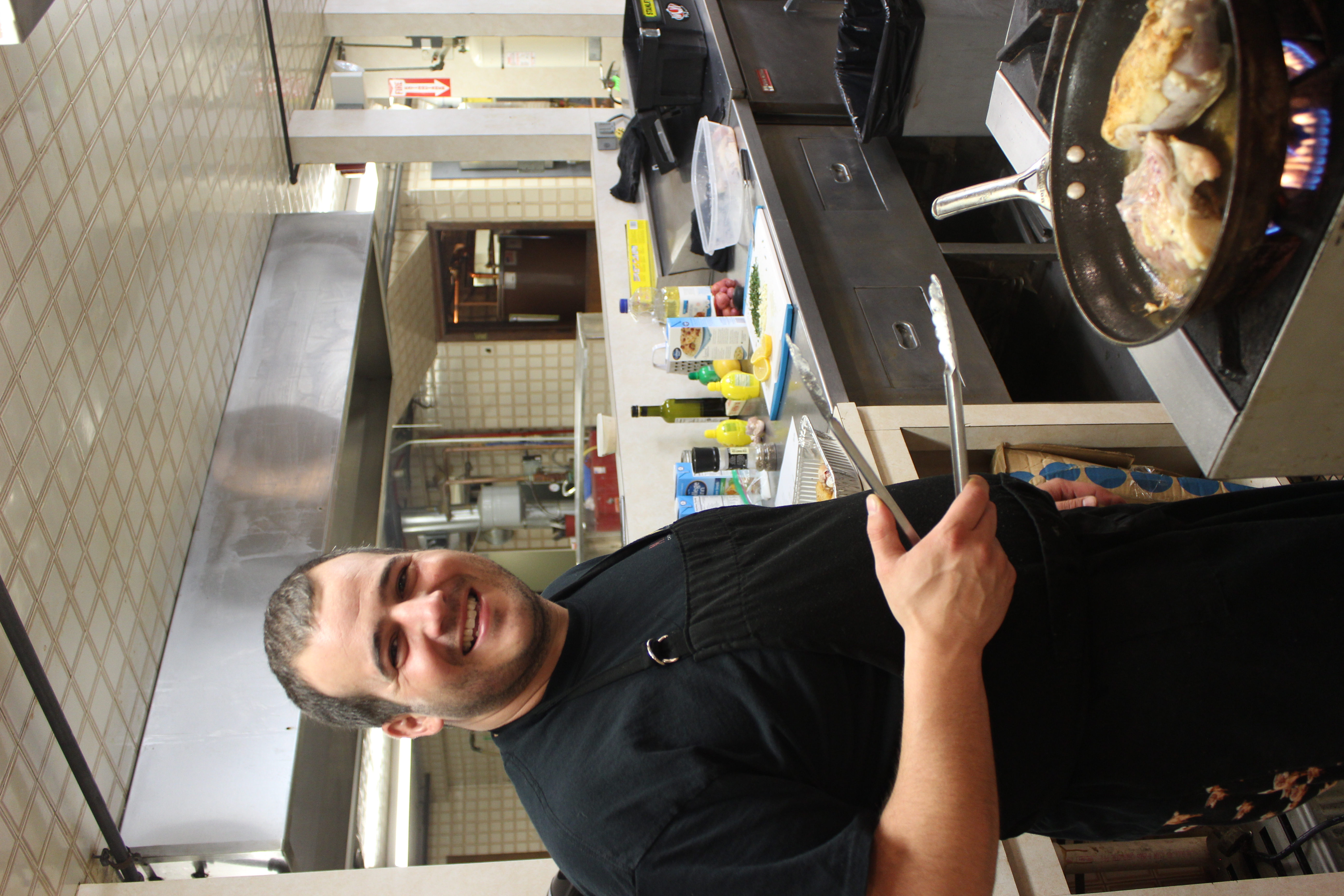 Chef Nicholas Orgo Busy at Work!