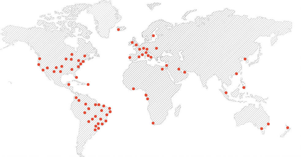 mapa de clientes publicidade popular