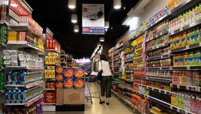 Cores mais usadas no setor alimentício.