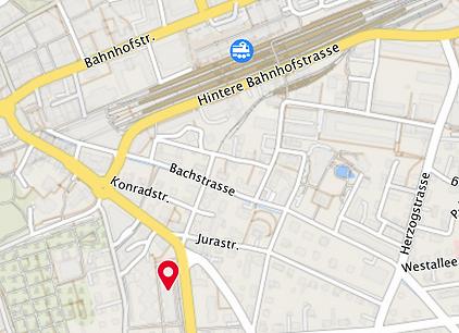 Karte Buchenhof BVU