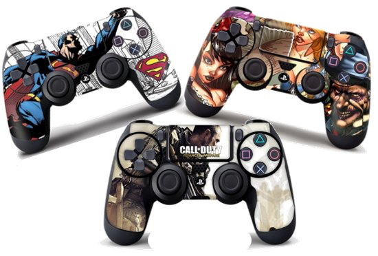 SKINS FOR PS4 CONTROLLERS